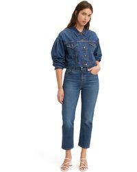 Levi's 501® ® Crop Jeans - Blauw