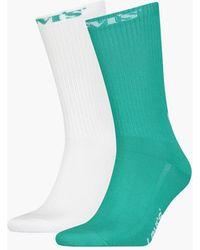 Levi's Calcetines de altura normal ® Neutral - Verde