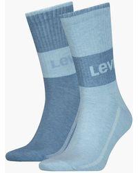 Levi's ® Korte Sokken - Blauw