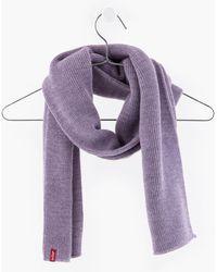 Levi's Lofty Scarf - Purple