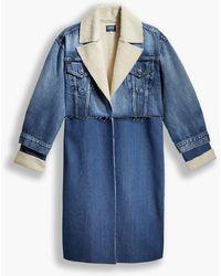 Levi's ® Made & Crafted Arctic Overcoat - Blau