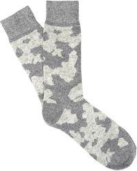 Etiquette - Lots Of Cash Camo Socks - Lyst