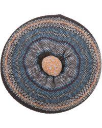 Quinton-chadwick - Fairisle Knit Beret Hat - Lyst