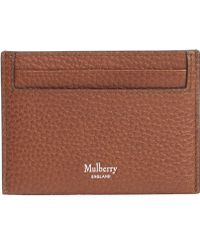 Mulberry - Grain Leather Card Holder - Lyst