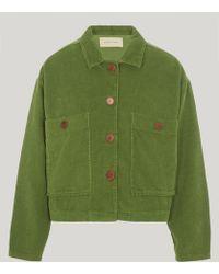 Paloma Wool Dori Corduroy Jacket - Green