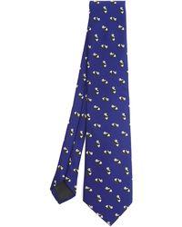 Drake's Panda Tie - Blue