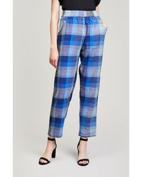 Ace & Jig - Gatsby Jacquard Trousers - Lyst
