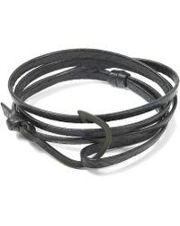 Miansai | Hook Leather Bracelet | Lyst