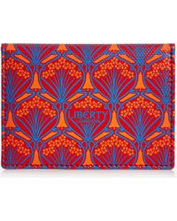 Liberty Iphis Canvas Business Card Holder - Multicolour
