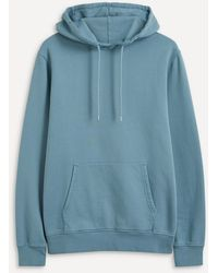 COLORFUL STANDARD Classic Organic Cotton Hoodie - Blue