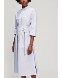 Tomorrowland - Belted Shirt-dress - Lyst