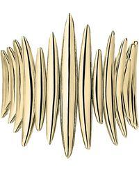 Shaun Leane Gold Plated Vermeil Silver Quill Wrap Ring - Metallic