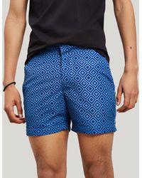 Frescobol Carioca Angra Classic Swim Shorts - Blue