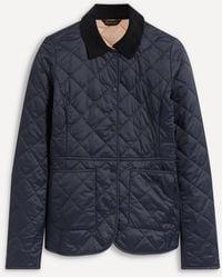 Barbour Deveron Quilted Jacket - Blue