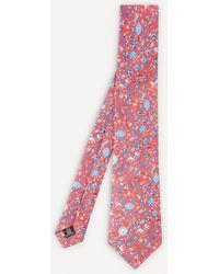 Liberty Imran Silk Tie - Red