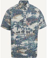Reyn Spooner Mauna Lani Shirt - Blue