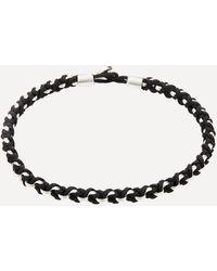 Miansai Sterling Silver Nexus Chain Bracelet - Metallic
