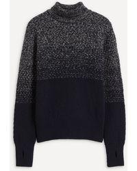 Oliver Spencer Talbot Roll-neck Wool Sweater - Blue