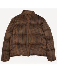 Paloma Wool Copernico Nylon Puffer Jacket - Brown