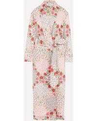 Liberty Talitha Tana Lawn' Cotton Robe - Multicolour