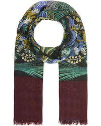 Inouitoosh - Floral Sofa Wool Scarf - Lyst