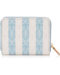 Liberty Iphis Stripe Small Coin Purse - Blue