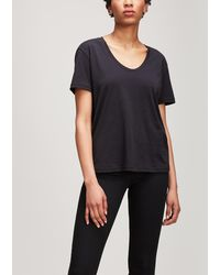 J Brand - Johnny Cotton T-shirt - Lyst