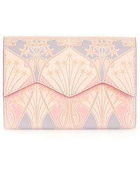 Liberty Bonnie Printed Leather Trifold Wallet - Pink