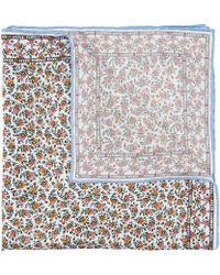 Liberty - Floral Summer Wedding Printed Silk Pocket Square - Lyst