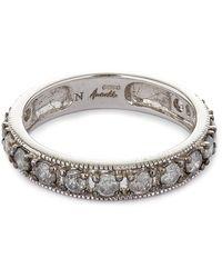 Annoushka - 18ct White Gold Dusty Diamonds Eternity Ring - Lyst