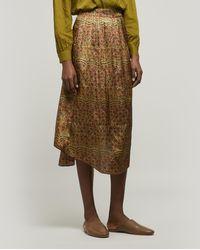MASSCOB Madeira Midi-skirt - Multicolour