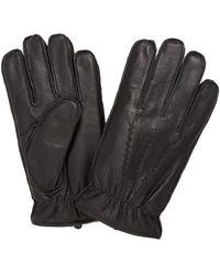 Dents Deerhurst Leather Gloves - Black