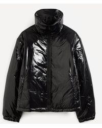 Acne Studios Face Gloss Nylon Puffer Jacket - Black