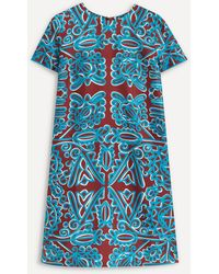LaDoubleJ Mini Swing Dress - Blue