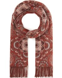 Johnstons - Cashmere Paisley Scarf - Lyst