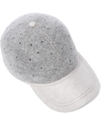 Christys' - Perforated British Ball Cap - Lyst