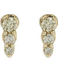 Astley Clarke - Gold Diamond Mini Interstellar Stud Earrings - Lyst