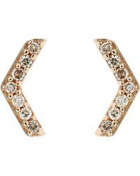 Astley Clarke - Varro Honeycomb Stud Earrings - Lyst