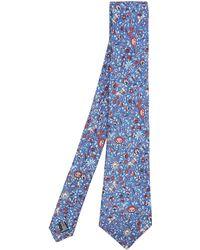 Liberty Imran Silk Tie - Blue