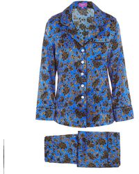 Liberty - Christelle Long Silk Pyjama Set - Lyst