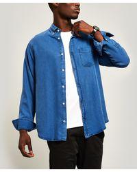 NN07 Levon Button-down Shirt - Blue