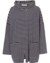Barena - Navy Luna Stripe Sweatshirt - Lyst