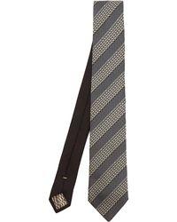 Missoni - Diagonal Stripe Text Tie - Lyst 6ae9544fc