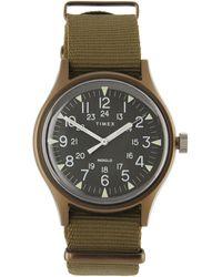 Timex Mk1 Aluminium Canvas Strap Watch - Multicolour