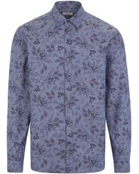 Liberty Dorothea Tana Lawn Cotton Lasenby Shirt - Grey