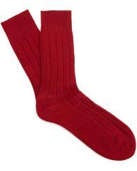 Falke - Lhasa Ribbed Ankle Socks - Lyst