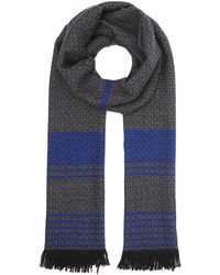 Nick Bronson - Optical All Over Pattern Scarf - Lyst