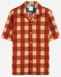 Paul Smith Wide Check Short-sleeve Shirt - Multicolour