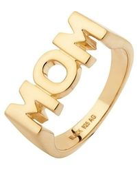 Maria Black - Gold-plated Mom Ring - Lyst