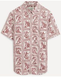 Reyn Spooner Island Water Sports Shirt - Pink